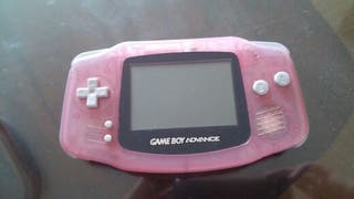 game boy advance color rosa