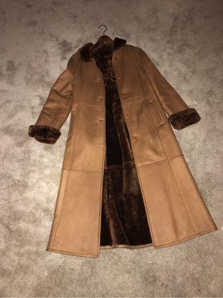 Abrigo piel nuevo mujer