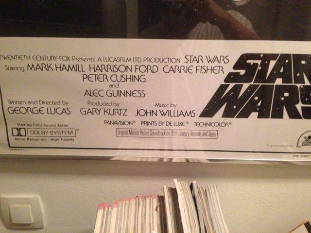 Cartel cuadro Star Wars poster enmarcado de segunda mano por 45 € en ...