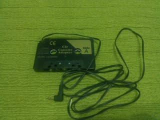 Adaptador cassette coche.