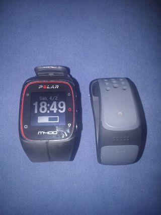 Polar M400 y pulsometro Mio Link