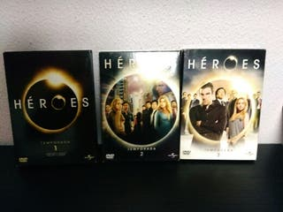 dvd serie Heroes 1 a 3