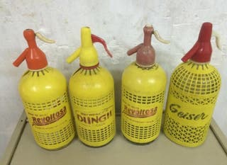 Botella Sifon, sifones