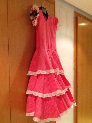 Traje de Flamenca Niña 5-8 años