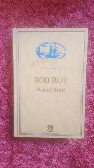Libro Rob Roy. Ed Planeta. Walter Scott