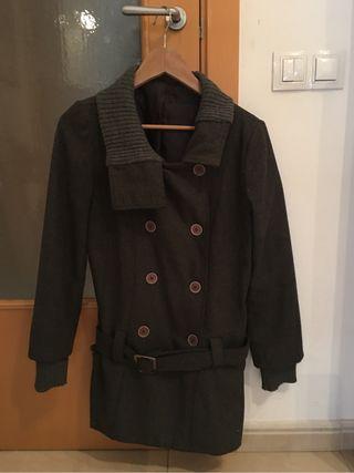 Abrigo gris M/L italiano