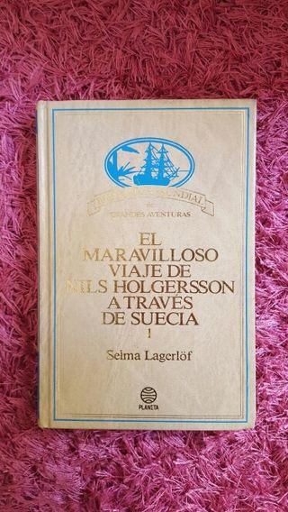 Libro. El maravilloso viaje de Nils....