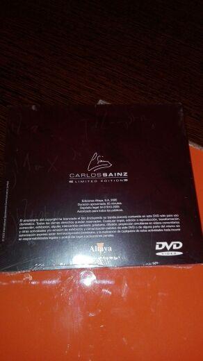 DVD Carlos Sainz Limited Edition