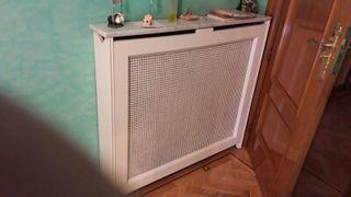 cubre radiador blanco