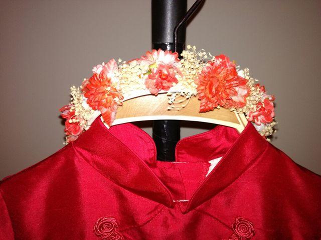 Vestido ceremonia, torera y diadema