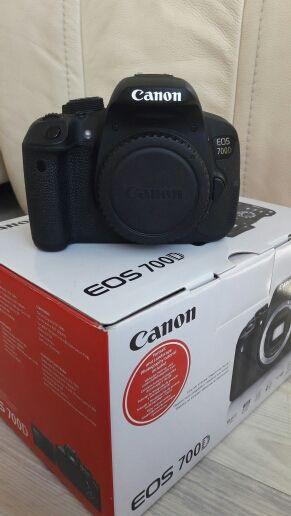Canon 700d con objetivo 18-135mm