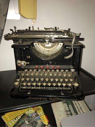 Maquina Escribir Remington Standar