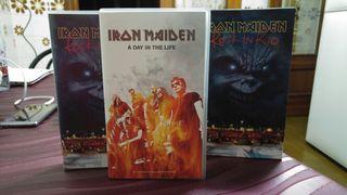VHS cocierto Iron Maiden