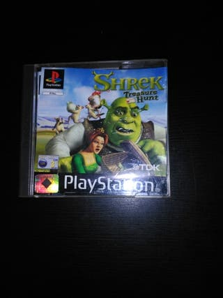 Shrek Treasure hunt PSX
