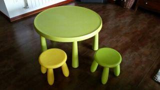 Mesa y sillas niñ@ Ikea