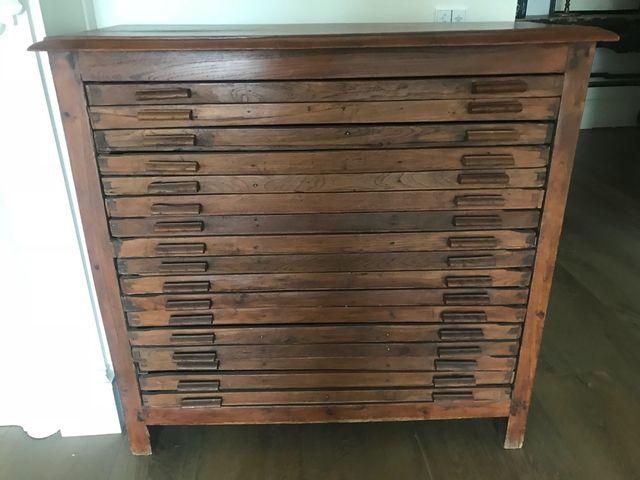 Mueble antiguo 1920 roble de segunda mano por 350 en - Segunda mano muebles girona ...