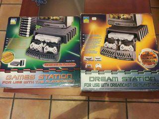 Soporte para playstation 1 y dreamcast