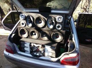 Equipo de sonido coche URGE !! VENTA O CAMBIO!!