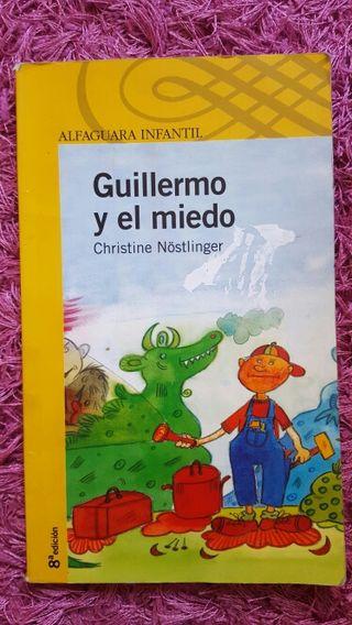 """Libro lectura """"Guillermo y el miedo"""""""
