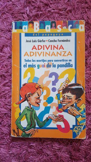 """Libro lectura """"Adivina adivinanza"""""""