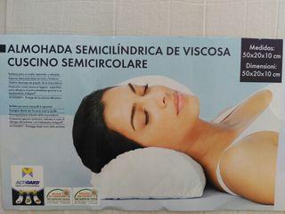 almohada semicilíndrica
