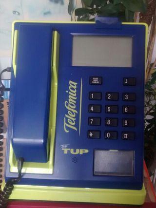 Cabina telefono de monedas