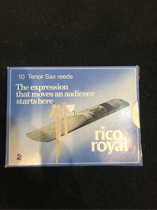 Caja cañas saxo tenor num.2