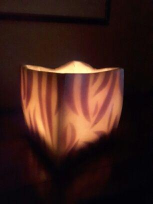 Vela iluminación