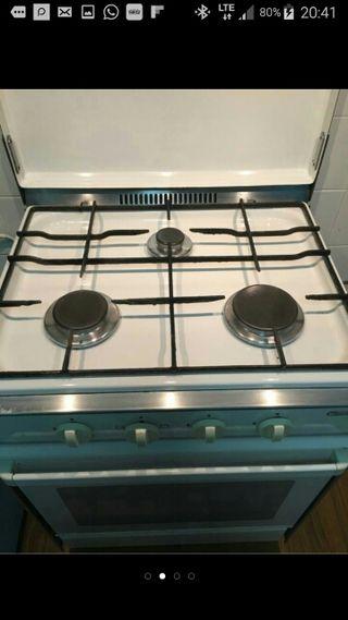 cocina gas butano Timshel con transporte