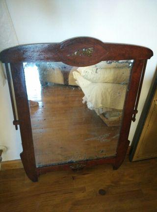 Espejo antiguo de segunda mano por 20 en ainsa wallapop - Wallapop muebles antiguos ...