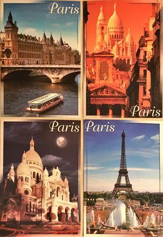 Postales París (varias unidades)