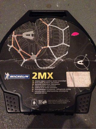 Cadenas nieve Michelin 2MX ,6 . NUEVAS!!!