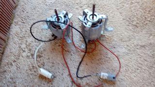 2 Motores para ventilador centrifugo