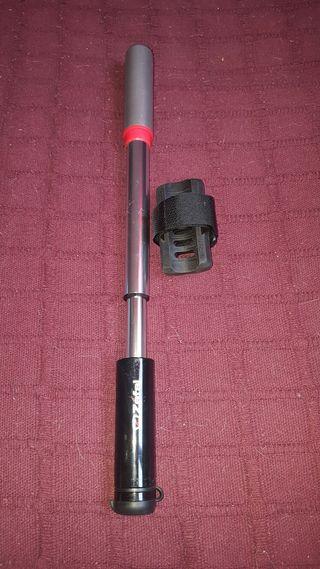 Hinchador telescópico aluminio zefal