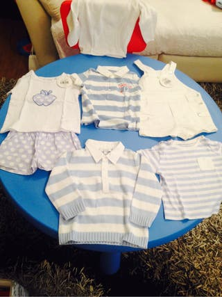 Lote ropa dulces 6-12 meses