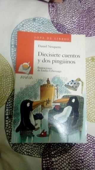 Libro infantil 17 cuentos y 2 pingüinos