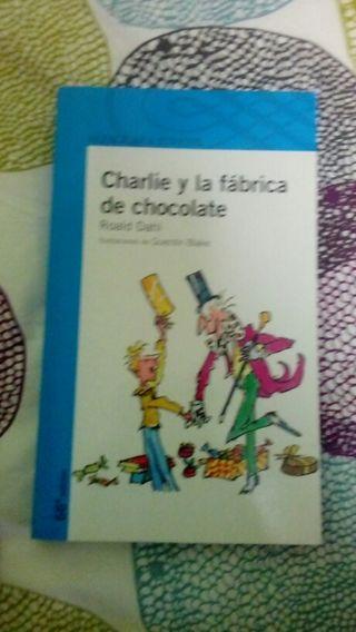 Libro infantil Charlie y la fábrica de chocolate