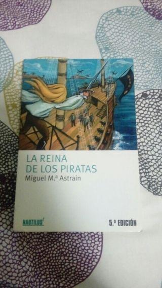 "Libro ""La reina pirata"""