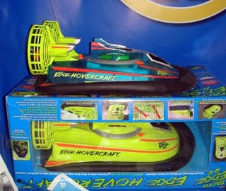 Juguete dos lanchas hovercraft radio control bizak