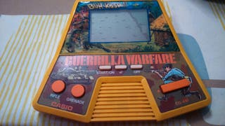 Juego retro vintage de casio Guerrilla Warfare