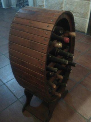 botellero de madera para bodega