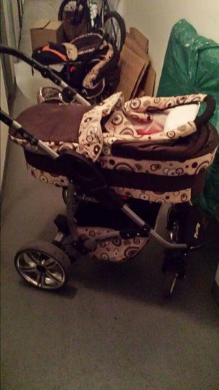 carrito bebe trio