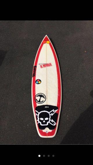 Tabla surf Al Merrick Red Beau