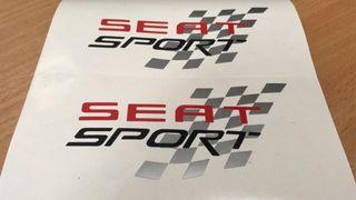 Pegatina seat sport