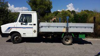 Daf 400 TDI CARGA 1.400kg, CAMION CAJA PLATAFORMA