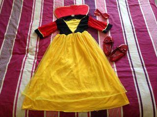 Disfraz Blancanieves 3-6 años.