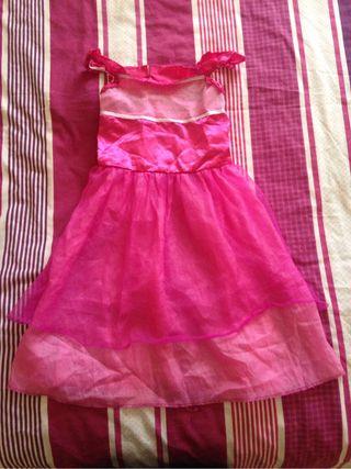 Dizfraz rosa de niña