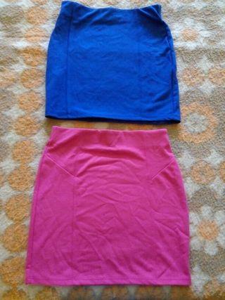 3 faldas