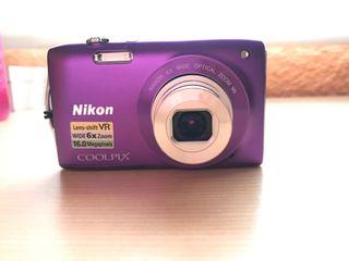 Camara Nikon s3300