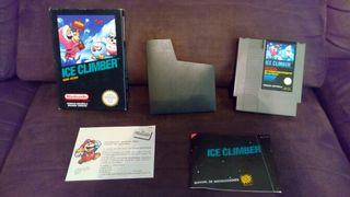 Ice climber para nintendo antigua